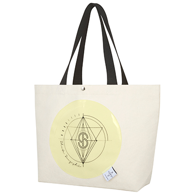 Clear Pocket Tote Bag