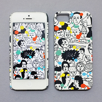 <avex mu-mo> ALL STAR SNAP CASE for iPhone 5/5s画像