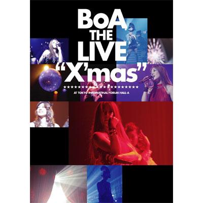 "BoA THE LIVE ""X'mas""【通常盤】"