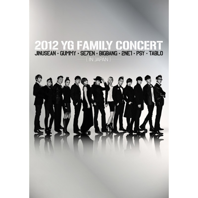 2012 YG Family Concert in Japan