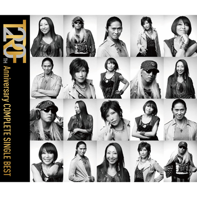 TRF 20TH Anniversary COMPLETE SINGLE BEST【3枚組ALBUM】