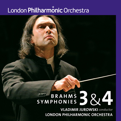 ブラームス:交響曲第3番&第4番(CD)