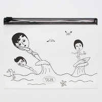 <avex mu-mo> AURORE SURFING CLEAR POUCH_MINI VER.3画像
