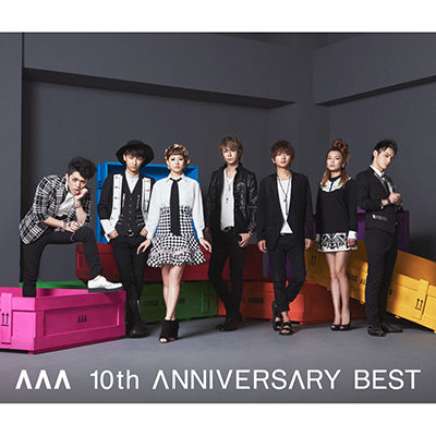 AAA10周年ベストアルバム・AAA 10th ANNIVERSARY BEST(2CD)