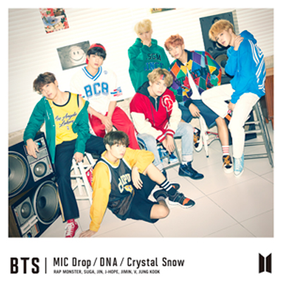 MIC Drop/DNA/Crystal Snow【初回限定盤A】(CD+DVD)
