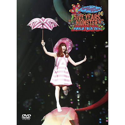 KPP 5iVE YEARS MONSTER WORLD TOUR 2016 in Nippon Budokan【初回限定盤】(DVD+VR視聴機)