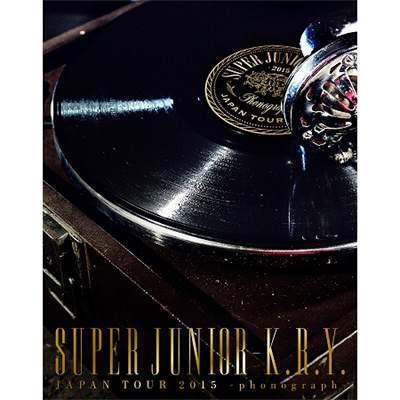 SUPER JUNIOR-K.R.Y. JAPAN TOUR 2015 ~phonograph~【初回限定生産盤】(Blu-ray2枚組)