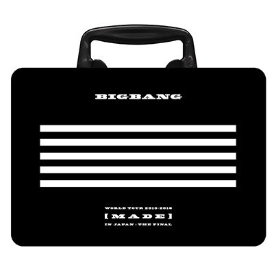 BIGBANG WORLD TOUR 2015�`2016 [MADE] IN JAPAN�FTHE FINAL�y���񐶎Y����Ձz�i2���gBlu-ray+2���gCD+PHOTO BOOK+�X�}�v���j-DELUXE EDITION-