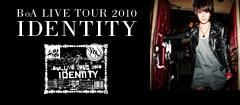 BoA LIVE TOUR 2010 IDENTITY