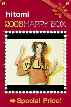 hitomi 2008 Happy Box