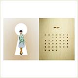 「卓上カレンダー」