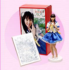 秋山莉奈 リアルフィギュア(DVD付き)