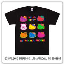 え~パンダ×ハローキティコラボTシャツ