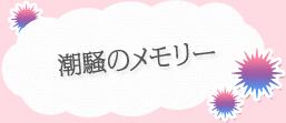 【潮騒のメモリー】