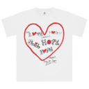 POWER of MUSIC Tシャツ(WHITE)
