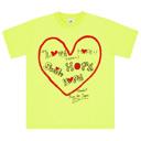 POWER of MUSIC Tシャツ(YELLOW)