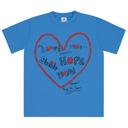 POWER of MUSIC Tシャツ(BLUE)