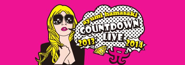 ayumi hamasaki COUNTDOWN LIVE 2013 2014