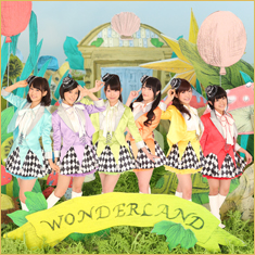 New シングル「WONDERLAND」CD+DVD<TYPE-A>