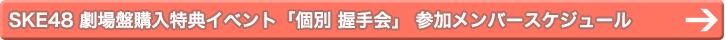 SKE48 劇場盤購入特典イベント「個別 握手会」 参加メンバースケジュール