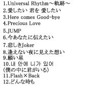 AVCD-38389収録楽曲