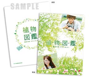「植物図鑑」オリジナルミニ・クリアファイル(1枚)