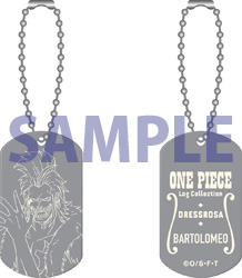 "ONE PIECE Log Collection オリジナルメタルタグ""バルトロメオ"""