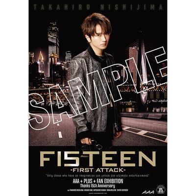 B2ポスター(3枚セット) -TAKAHIRO NISHIJIMA-