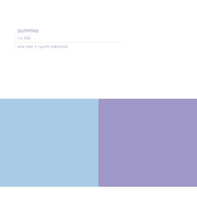 alva noto+ryuichi skamoto「summvs」(輸入盤)【オリジナルTシャツ白(M)付き限定セット】