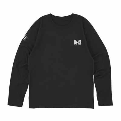 ロングスリーブTシャツ_ブラック_L