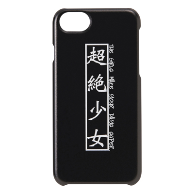 超絶少女 iPhone case(for iPhone6,7,8)