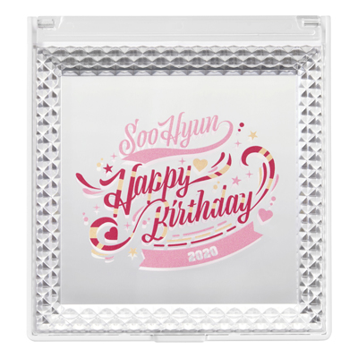 SooHyun Happy Birthday ミラー
