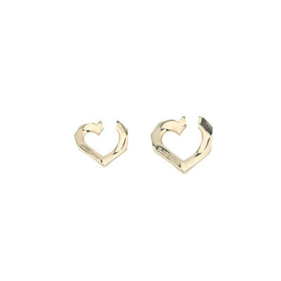 [H.Y.L.T] BLACKPINK EAR CUFF SETS BOLD HEART