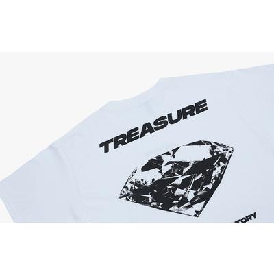 [TREASURE MAP] TREASURE T-SHIRTS TYPE 1 WHITE L