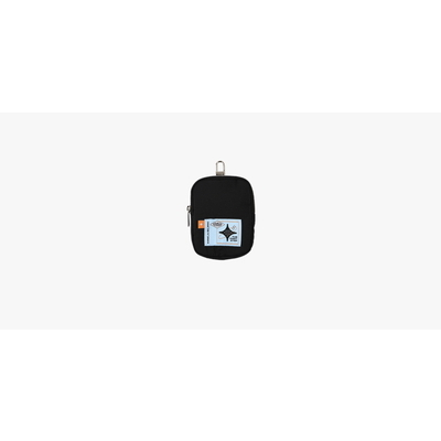 [I LOVE YOU] TREASURE SLING BAG POUCH BLACK