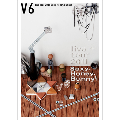 V6 live tour 2011 Sexy.Honey.Bunny!(2枚組みDVD)
