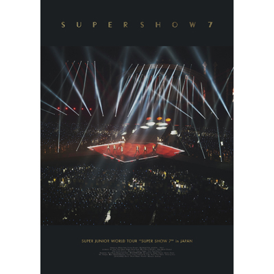 SUPER JUNIOR WORLD TOUR SUPER SHOW7 in JAPAN(2枚組DVD+スマプラ)