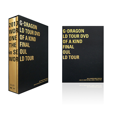 G-DRAGON WORLD TOUR DVD [ONE OF A KIND THE FINAL in SEOUL + WORLD TOUR](4枚組DVD)