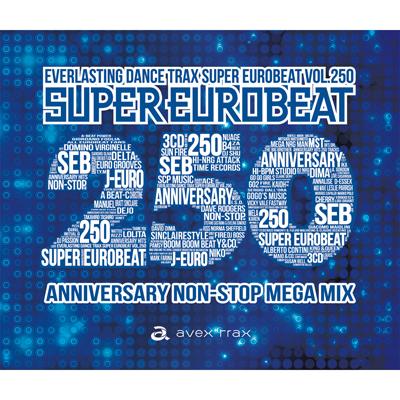 SUPER EUROBEAT VOL.250(3枚組CD)