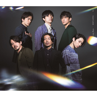 Crazy Rays / KEEP GOING【初回盤B】(CD+DVD)