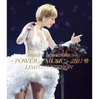 ayumi hamasaki ~POWER of MUSIC~ 2011 A(ロゴ) LIMITED EDITION【BD】