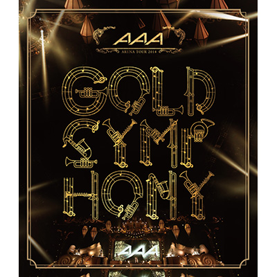 AAA ARENA TOUR 2014 -Gold Symphony-【Blu-ray】通常盤