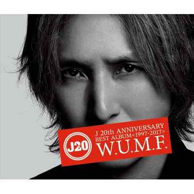 J 20th Anniversary BEST ALBUM <1997-2017> W.U.M.F.(CD+Blu-ray Disc)