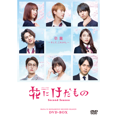 花にけだもの~Second Season~ DVD-BOX(3枚組DVD)