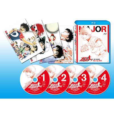 メジャー[吾郎・寿也激闘編] Blu-ray BOX(4枚組Blu-ray)