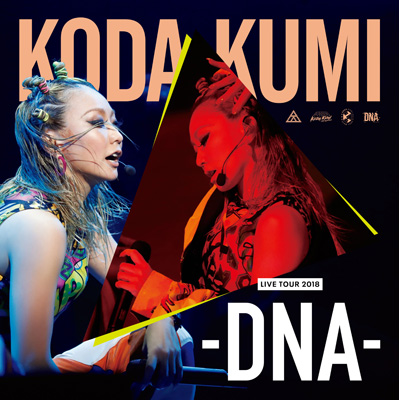 KODA KUMI LIVE TOUR 2018 -DNA-【倖田組/KODA KUMI GLOBAL FANCLUB KODA GUMI/playroom限定商品】(DVD4枚組)