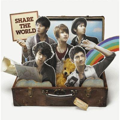 Share The World / ウィーアー!(CDシングル+DVD仕様)
