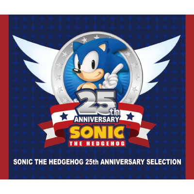 SONIC THE HEDGEHOG 25TH ANNIVERSARY SELECTION