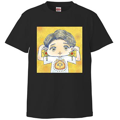 【受注生産】あき姉SUNSUNTシャツ(黒)