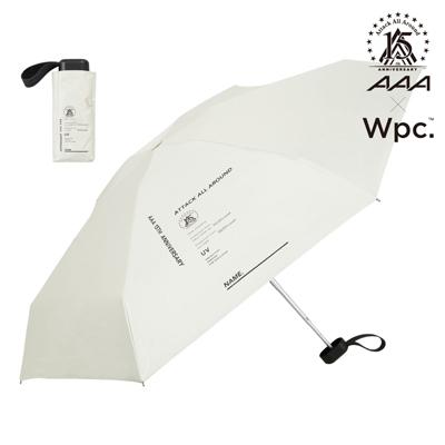 コンパクト折りたたみ傘(晴雨兼用)-OFF WHITE-